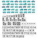 Počítání s autíčky (s podkladem)
